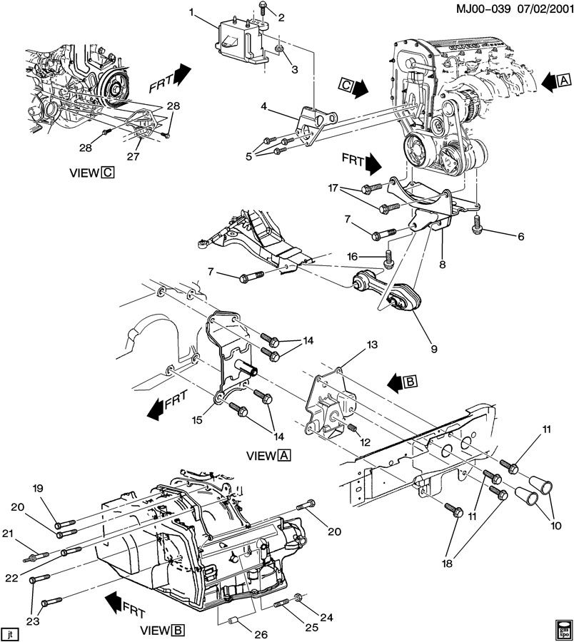 Stereo Wiring Diagram For A 2001 Chevy Cavalier. Stereo
