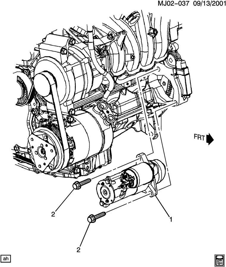 2009 Saturn Vue Starter. Starter motor. Gxgy, pjpkpl