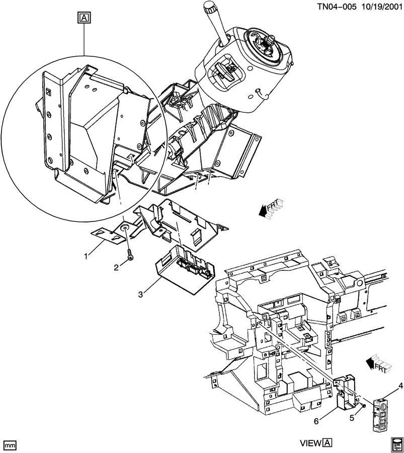 Hummer H2 Module. Transfer case shift control. Module