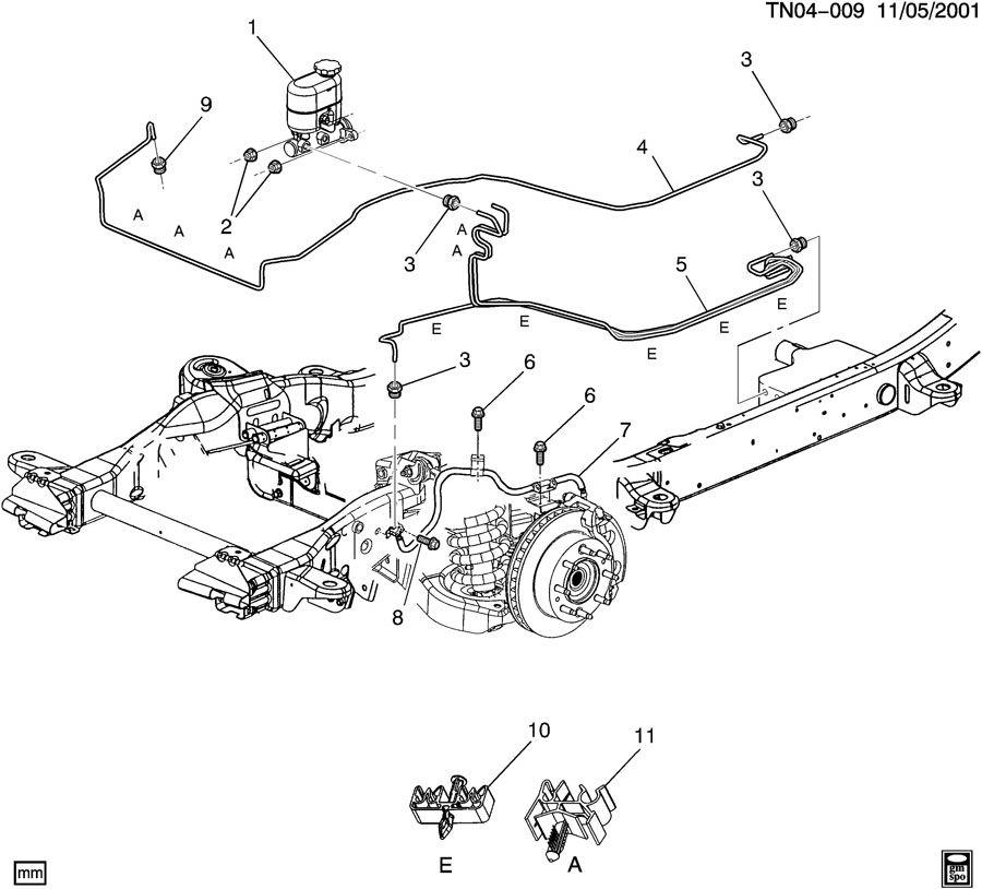 Hummer H 2 Brake Line Diagram
