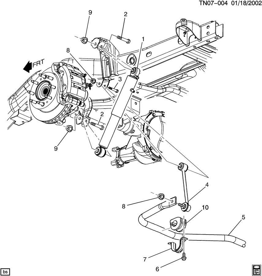 Hummer H2 SUSPENSION/REAR PART 1