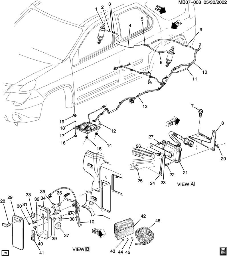Buick LEVEL CONTROL SYSTEM/AUTOMATIC