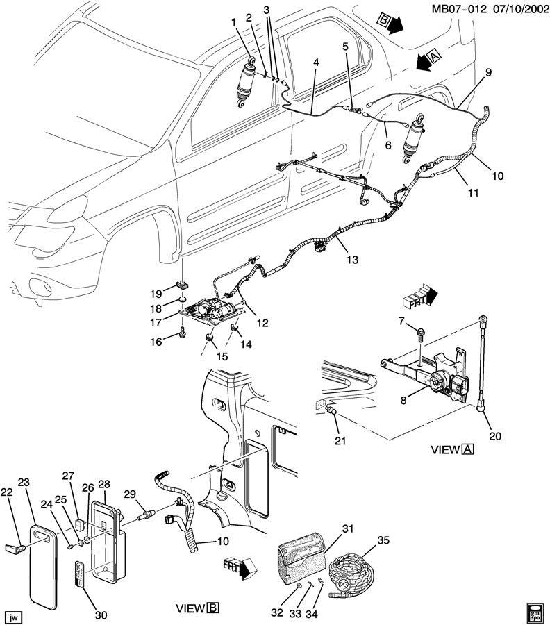Chevrolet Equinox Connector; receptacle. Femalewleads