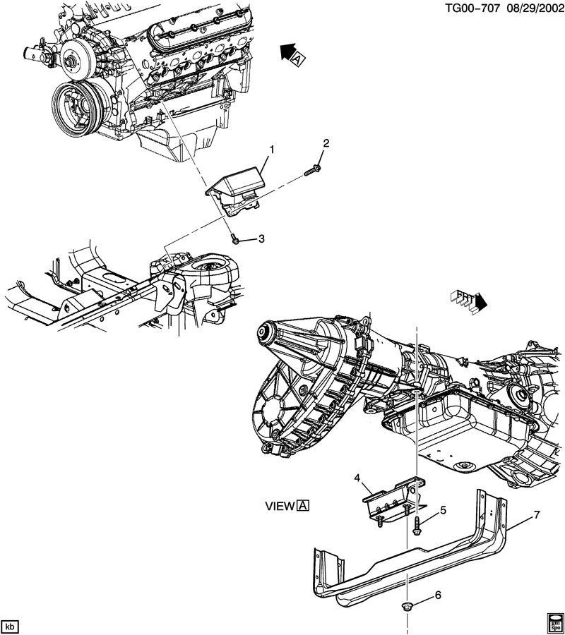 2011 Chevrolet EXPRESS Mount. Engine mounting. Mount, eng