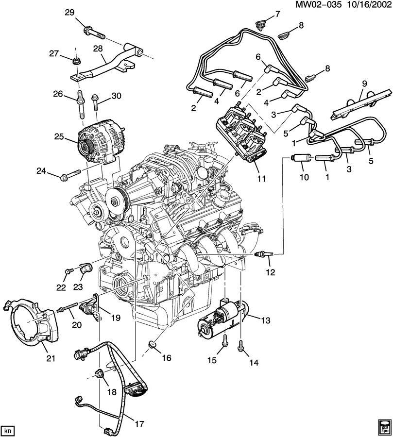 Chevrolet Impala Harness. Engine wiring. Harness, elek icm