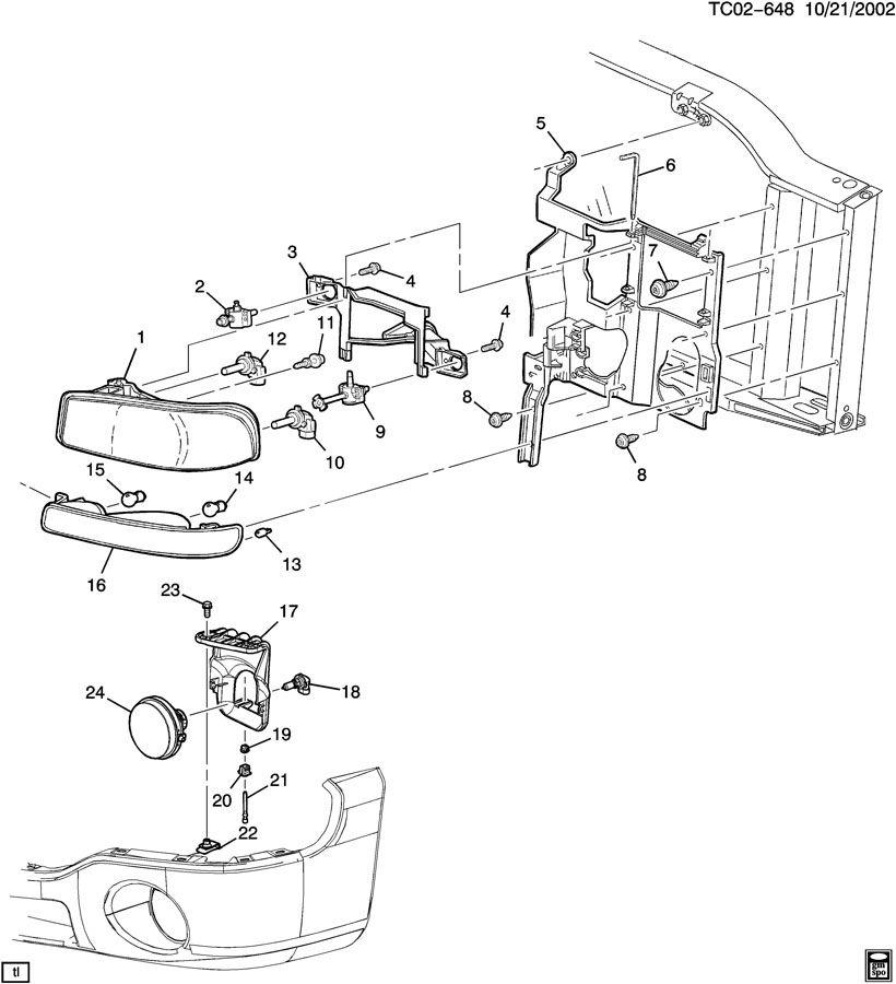 GMC Sierra Adjuster. Capsule/headlamp adjuster. Adjuster
