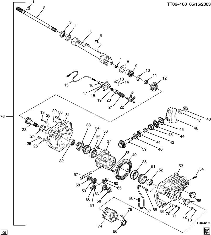 2000 Chevy Blazer Parts Diagram