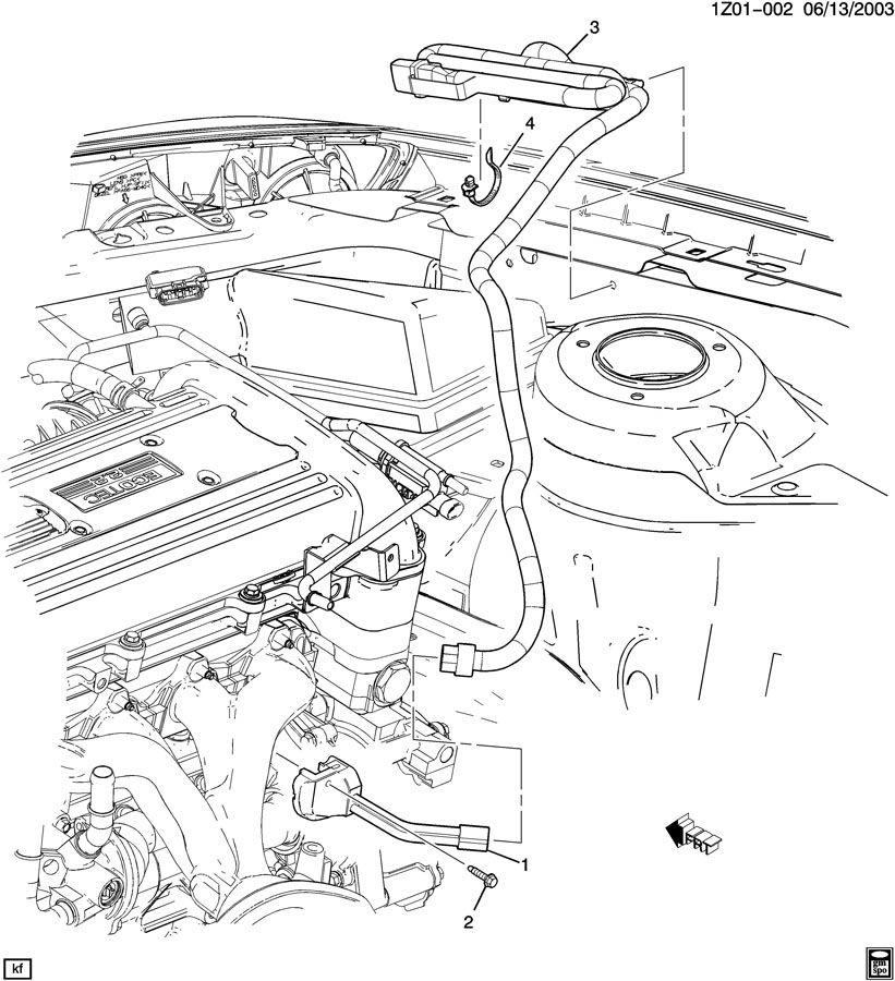 Chevrolet Malibu ENGINE BLOCK HEATER