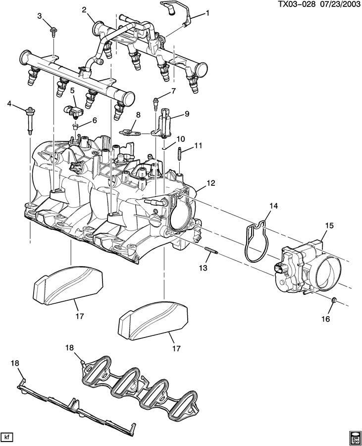 [DIAGRAM] 4 3 Vortec Vacuum Diagram