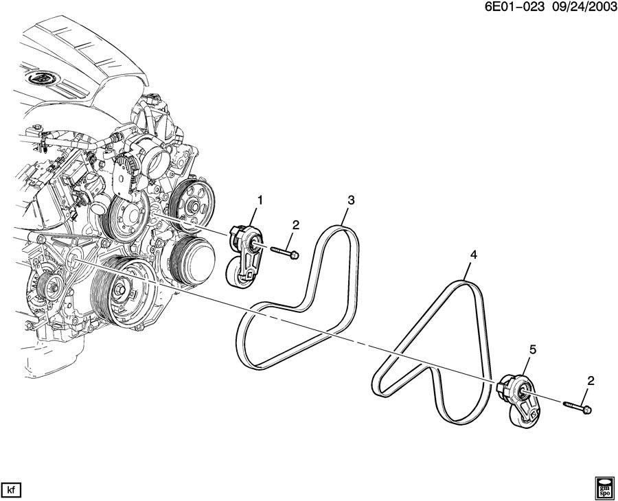 Service manual [Install Serpintine Belt 2011 Cadillac Cts