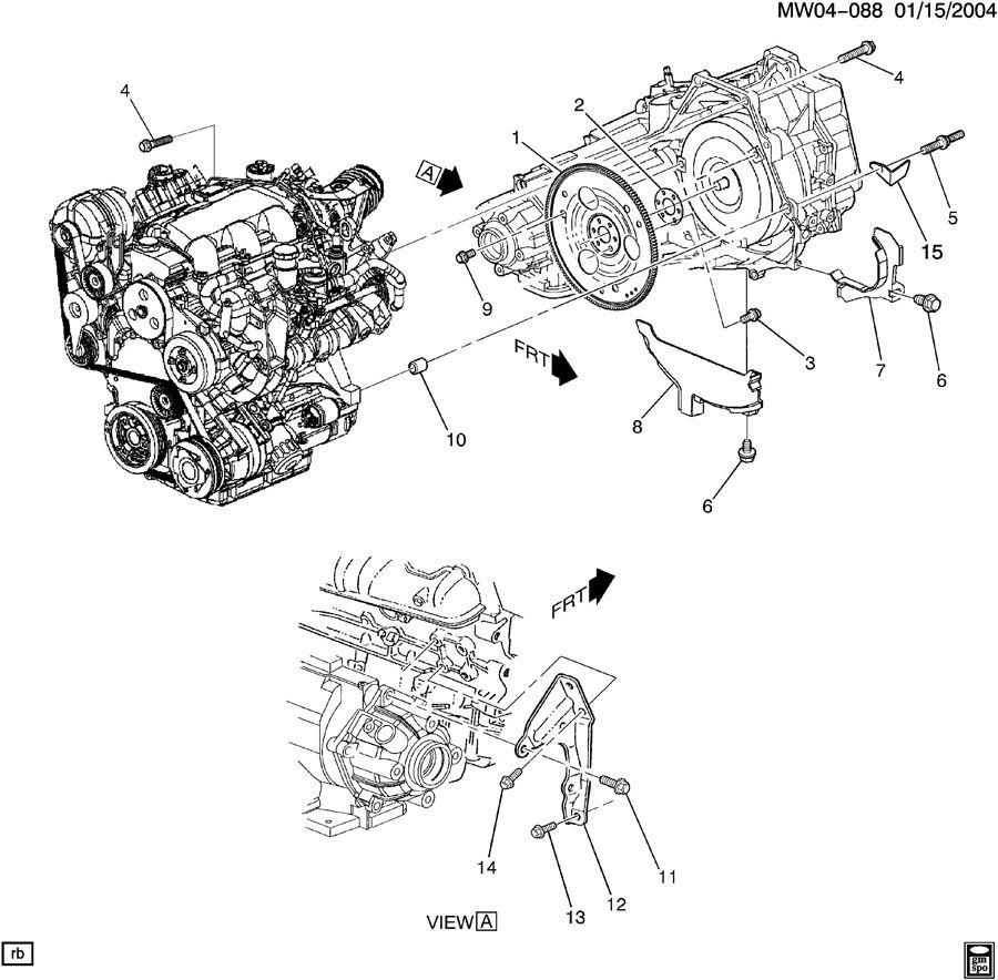 Pontiac Grand Prix Brace. Transmission mounting. Brace