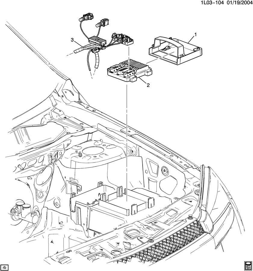 Pontiac Torrent Ecm. Module assembly, pwrt control (reman