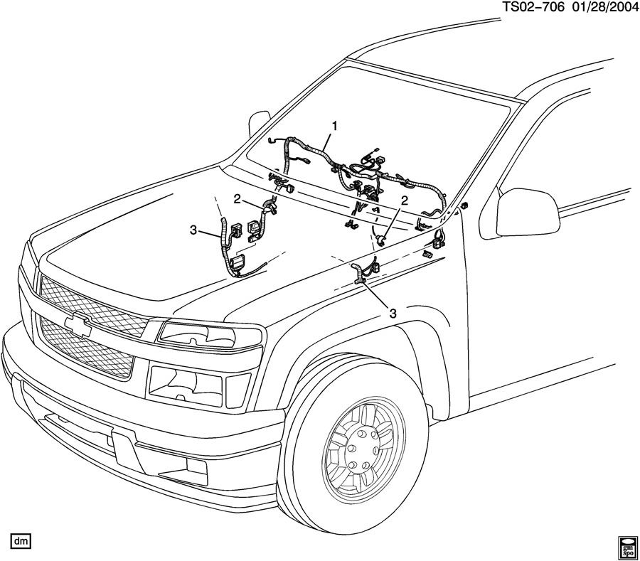 2009 Colorado Wiring Harness. Wiring. Wiring Diagrams