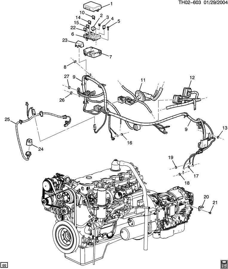 2006 Chevy C7500 Wiring Diagrams. K1500 Wiring Diagram