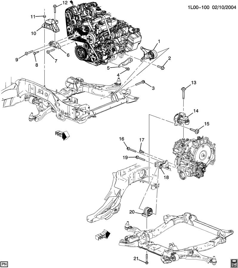 Service manual [Motor Repair Manual 2009 Pontiac Torrent