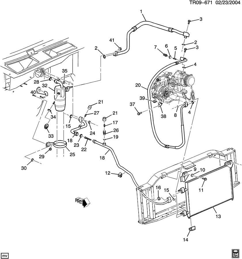 GMC ACADIA Sensor. Air conditioning (a/c) electric