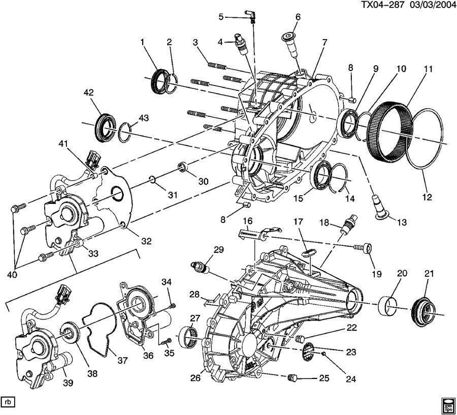 2005 Chevrolet SUBURBAN TRANSFER CASE