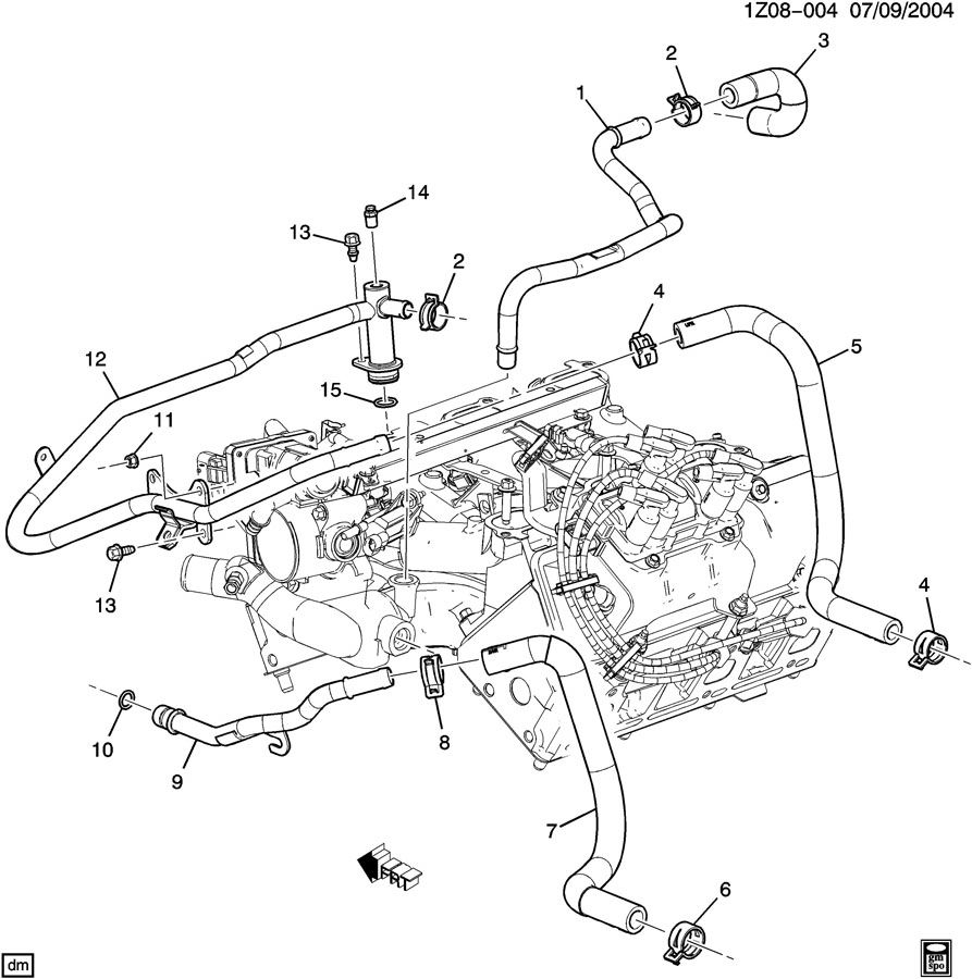 Gm 3 4 V6 Engine Diagram GM Iron Duke Engine Wiring