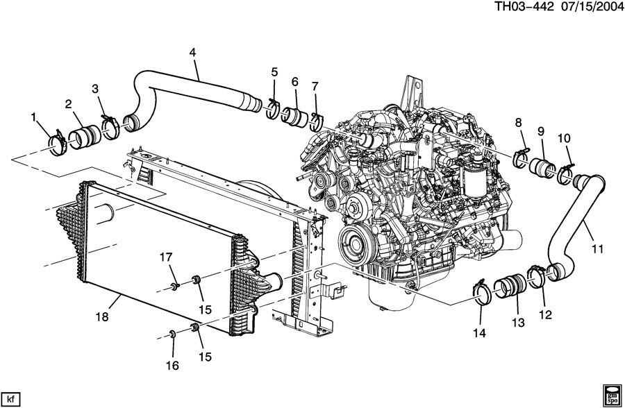TURBOCHARGER INTERCOOLER SYSTEM
