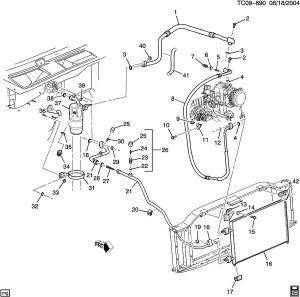 Chevrolet Tahoe AC REFRIGERATION SYSTEM