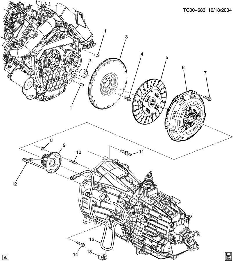 NEW GM Clutch & Pressure Plate Chevy Silverado GMC 6.6