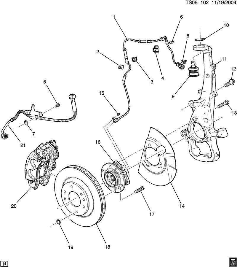 Chevrolet TRAILBLAZER Clip. Electronic brake control