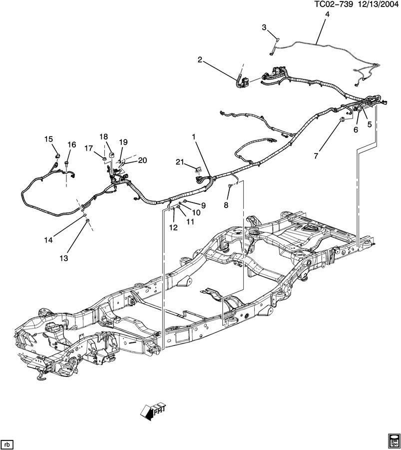 Chevrolet Tahoe Bracket; connector; module; relay; relay