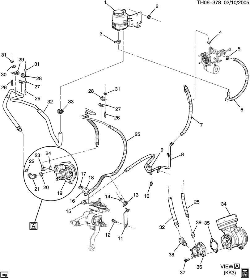 GMC C7500 Power Brake Booster. ELBOW. ADAPTER