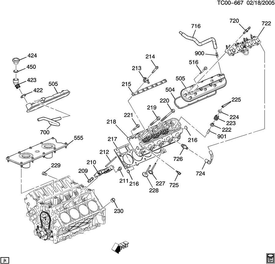 Hummer H2 Plug. Engine cylinder head. Engine fuel intake