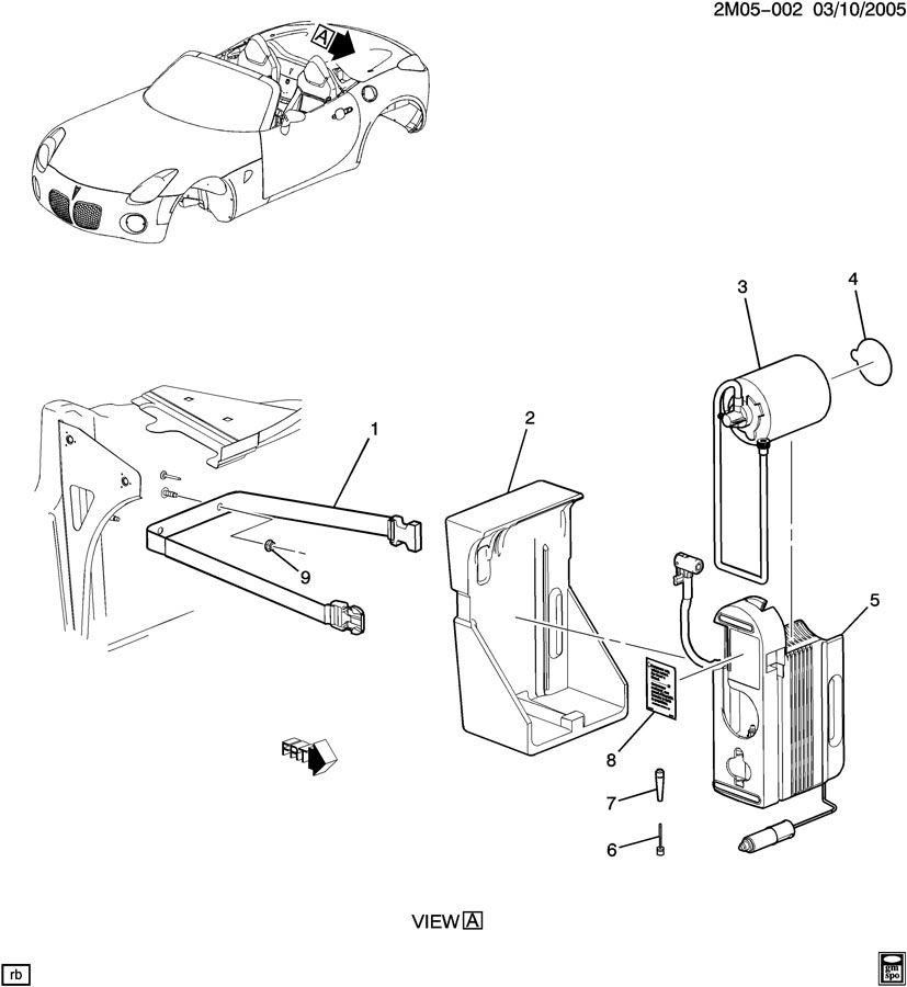 Pontiac Solstice Compressor. Tire. Compressortire, kitkti