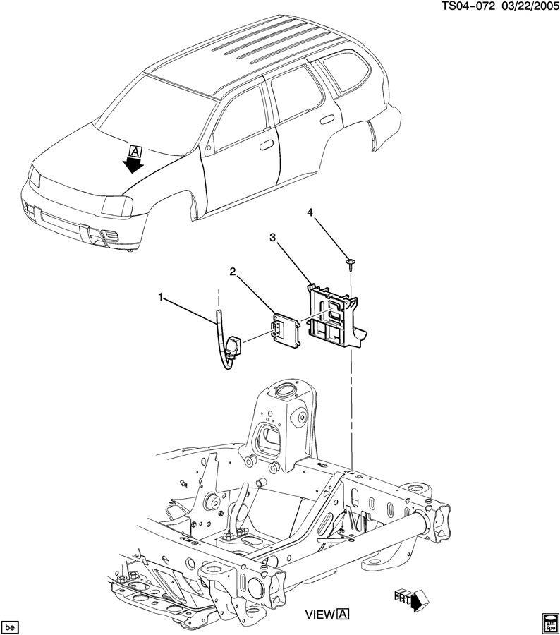 Chevrolet TRAILBLAZER Module. Transmission control module