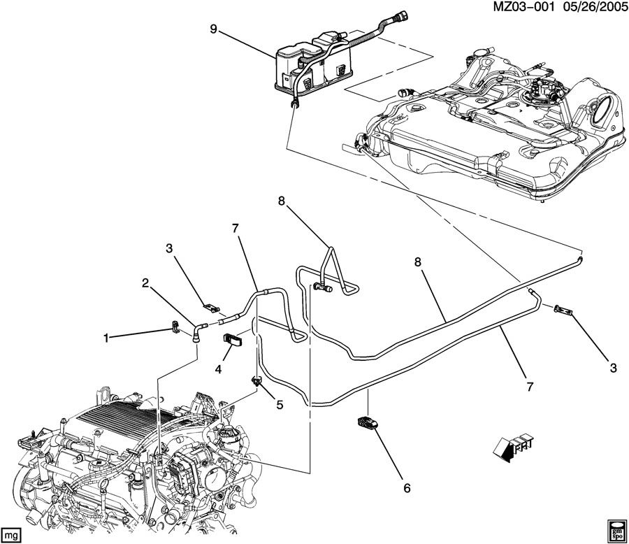 Pontiac G6 Motor Diagram : Blower Motor Circuit Diagram