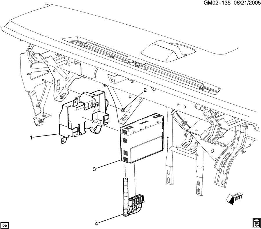 2006 Buick Lucerne MODULE/BODY CONTROL