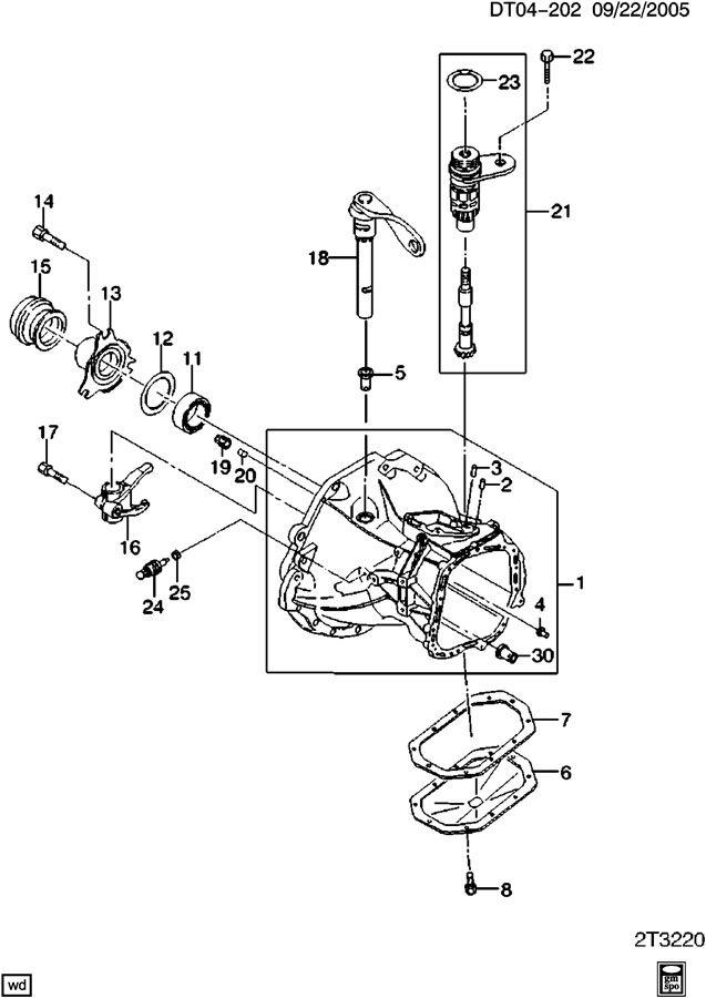 Chevrolet Aveo Fork. Engine clutch release. Fork, clu rel