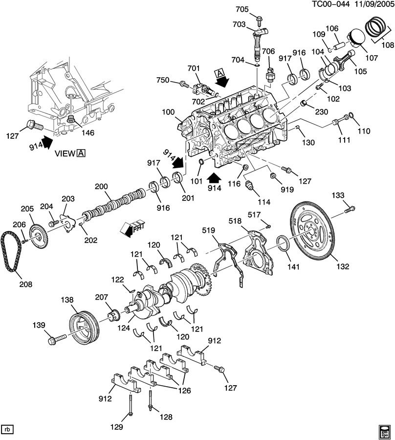 Chevrolet Silverado Ring kit. Engine piston. Compression