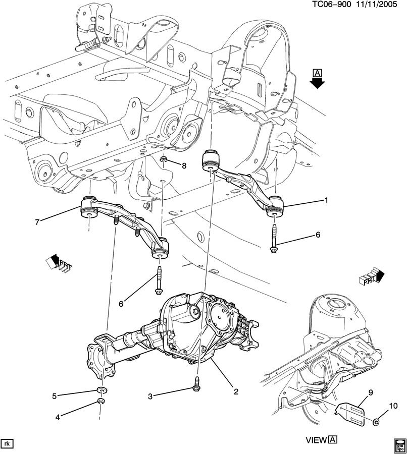 Service manual [Drive Axle Front Housing Mounting