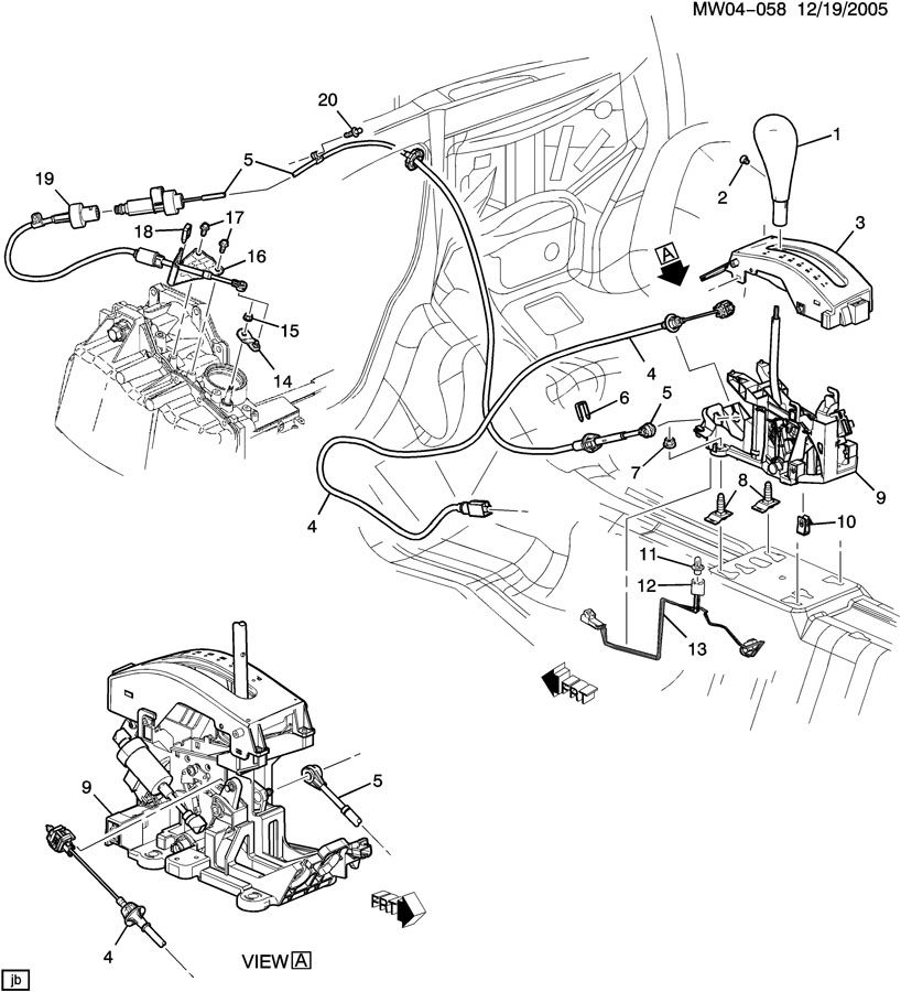 SHIFT CONTROL/AUTOMATIC TRANSMISSION
