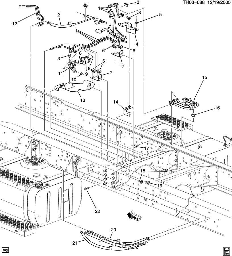 GMC C8500 Pump. Fuel pump. Pump, fuel (elec)(03.163