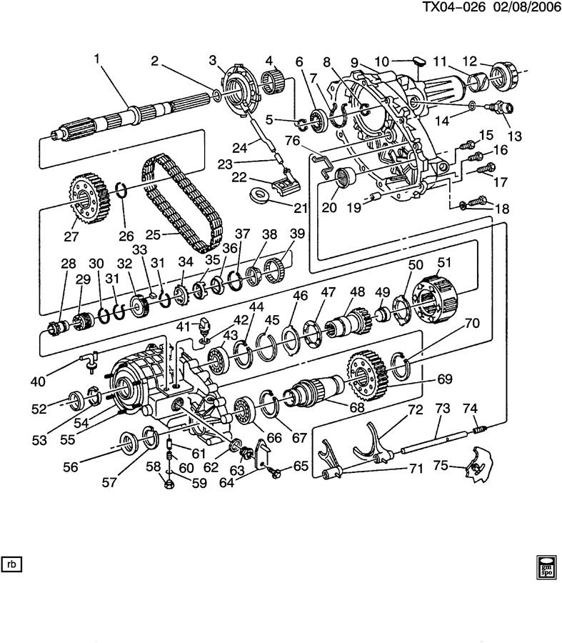 Service manual [2002 Oldsmobile Silhouette Transfer Case