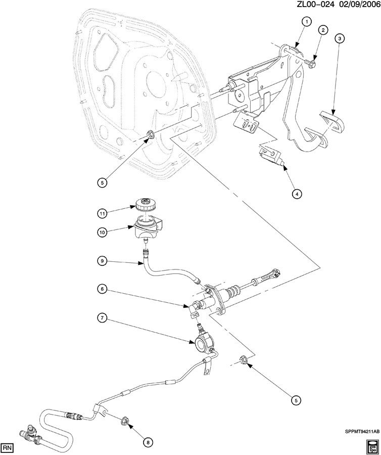 CLUTCH PEDAL & CYLINDERS