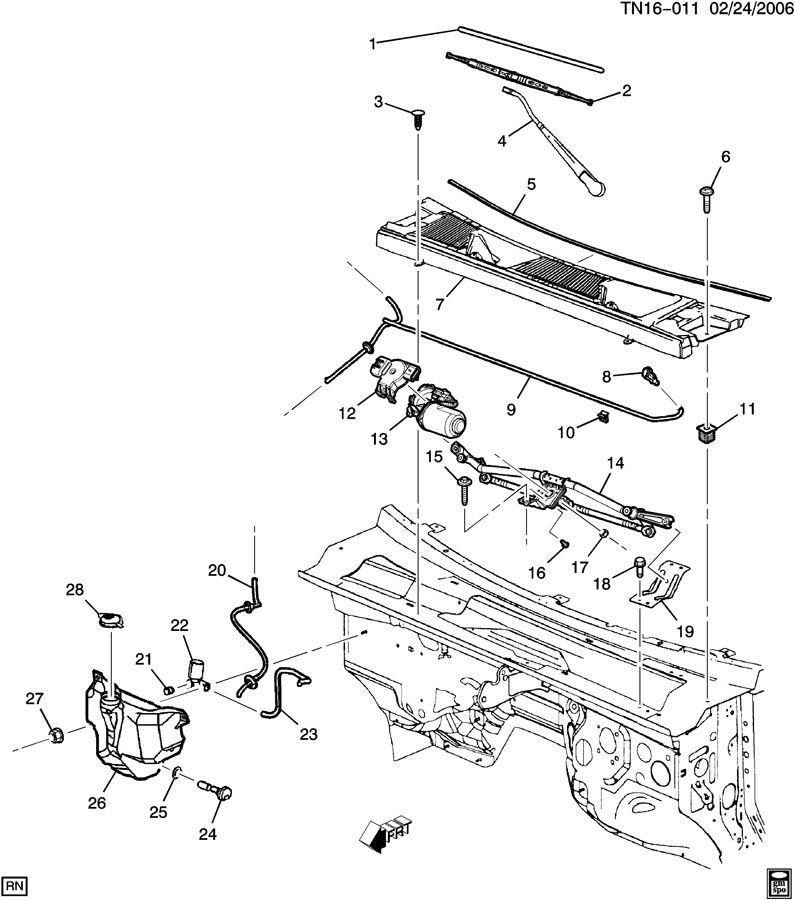 N2(36) WIPER SYSTEM/WINDSHIELD;