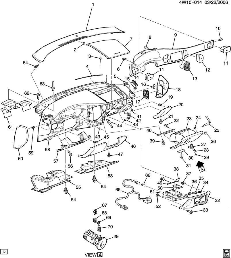 Buick Century Ashtray. Instrument panel ashtray. Ashtray