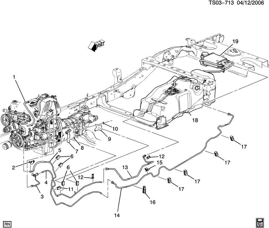 Chevrolet COLORADO FUEL SUPPLY SYSTEM