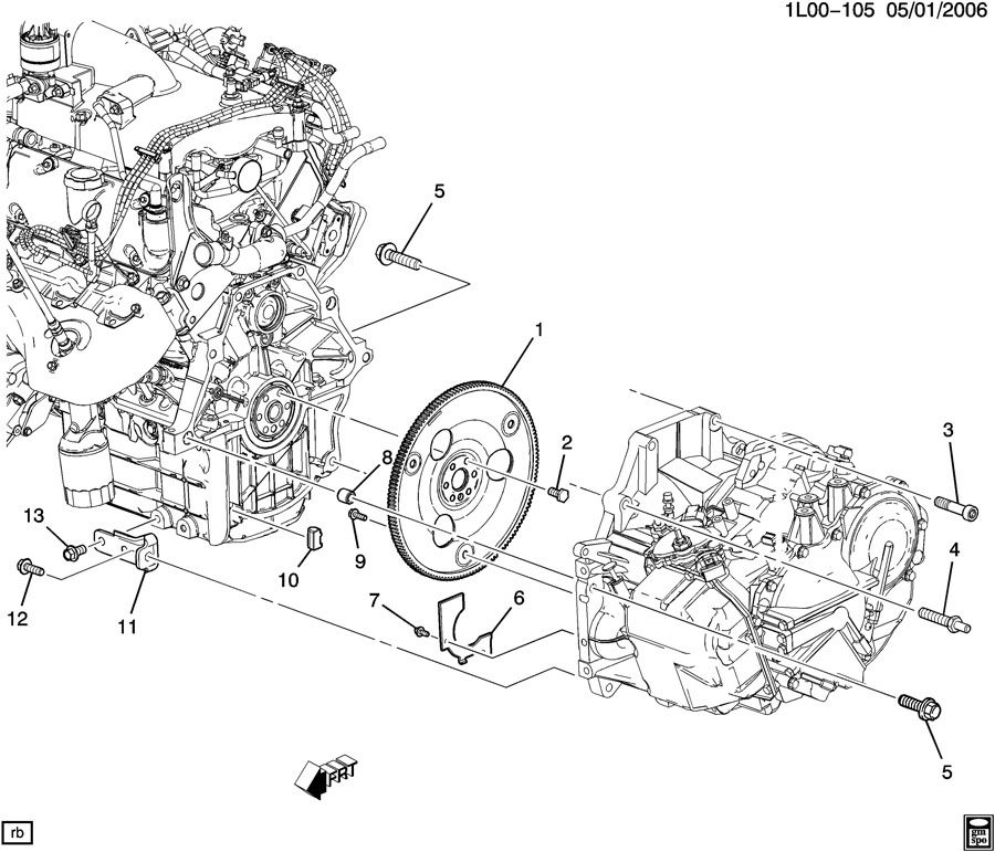 Service manual [Removing Transmission From A 2007 Pontiac