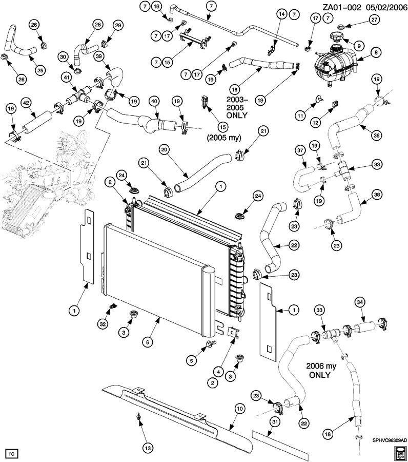 2003 Saturn Ion Tank. Engine coolant recovery. Surgeincls