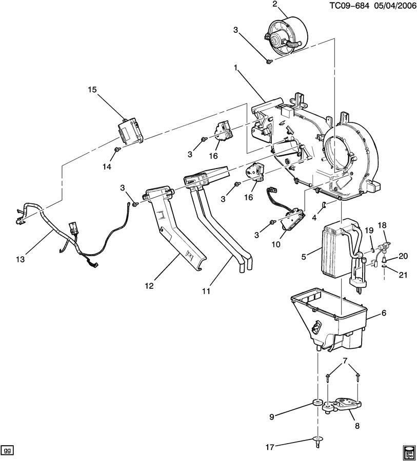 2003 Chevrolet Silverado SS Case. Air conditioning (a/c