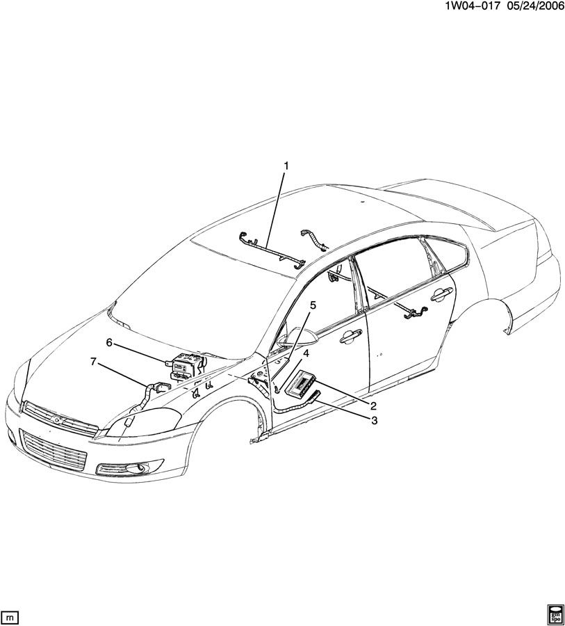 2006 Chevrolet Monte Carlo Module. Body multifunction