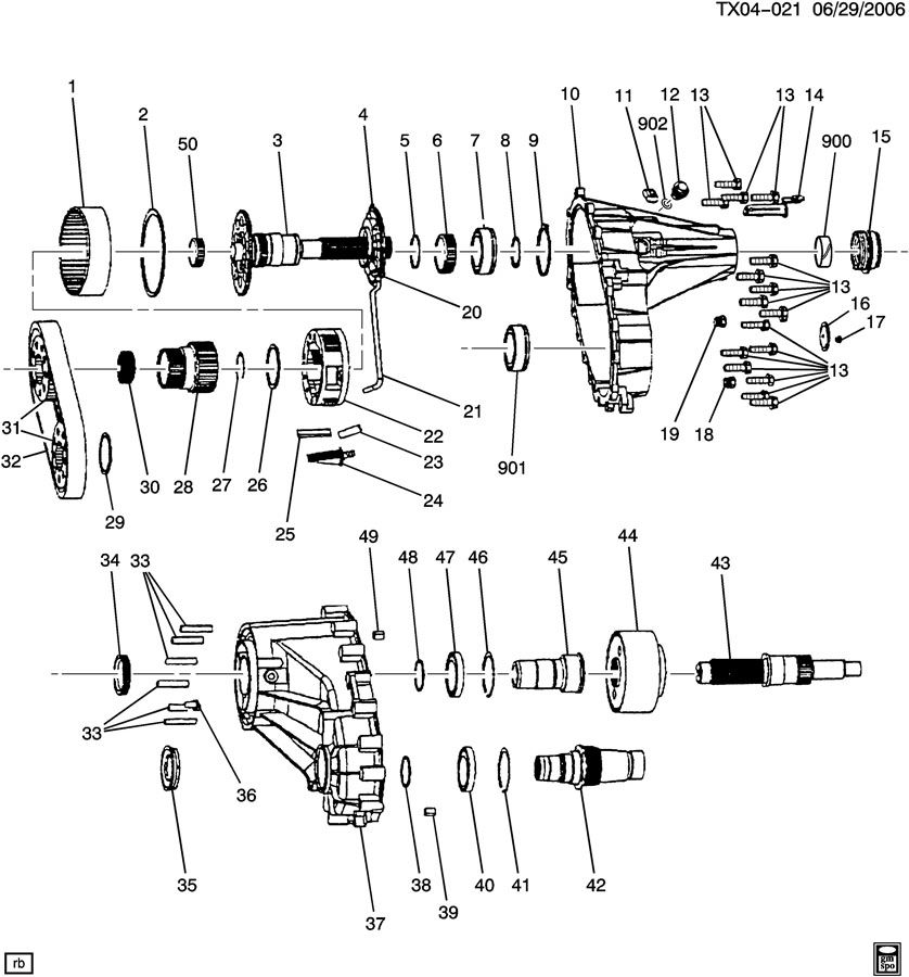 2000 Chevy Tahoe Np8 Transfer Case Diagram