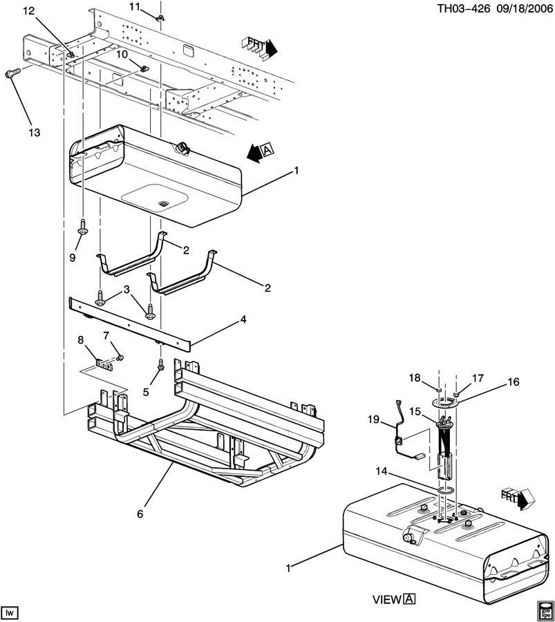 2003 Chevy C4500 Duramax Fuel Pump Location Chevy Fuel
