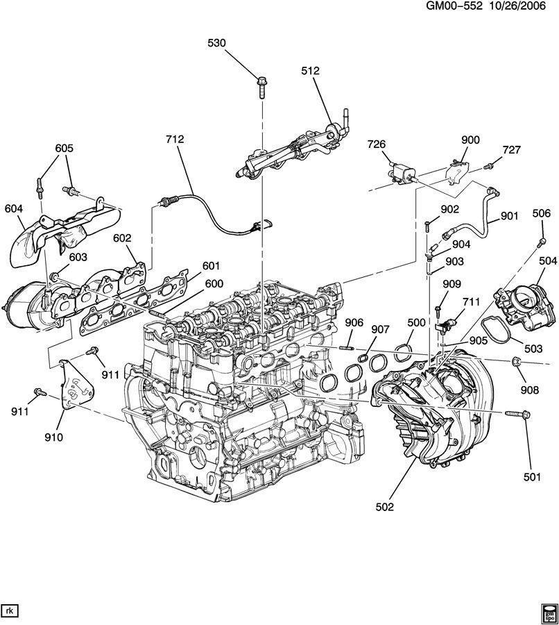 Chevy 1996 S10 2 2L Engine Diagram : General Motors 122